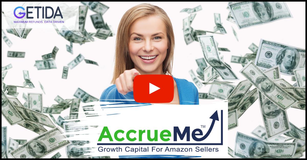 GETIDA - AccrueMe Amazon fba reimbursements